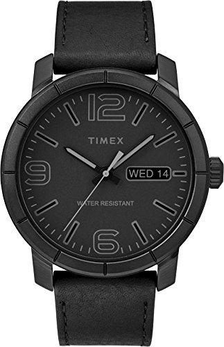 Timex Mixte Adulte Analogique Automatique Montre avec Bracelet en Cuir TW2R64300
