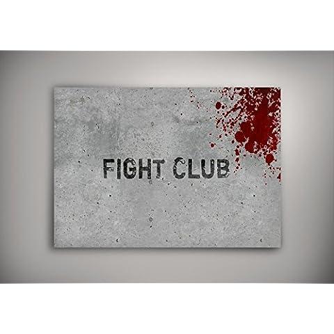 """Foto Artistica 10107, Fight Club, Poster Autoadesiva di Carta Manifesto Cartellone Design Art Foto Deco Print Immagine con Disegno Colorato. Dimensione: 8.5"""" x 11"""" - 22 x 28 cm"""