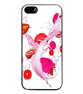 printtech Match Fire Macro Back Case Cover for Apple iPhone 5S