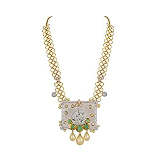 WHP Jewellers 18K (750) Yellow Gold and Diamond Multi-Strand Necklace