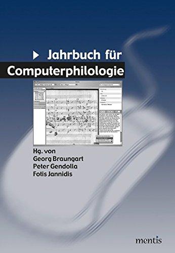 Read Jahrbuch für Computerphilologie: Jahrbuch für