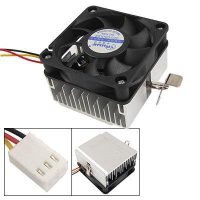 DealMux Aluminium-Kühlkörper-Lüfter CPU-Kühler für Intel P4 Sockel 478 (478 Cpu-lüfter Sockel)