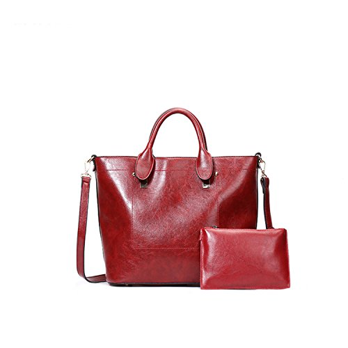 SIFINI, Borsa a secchiello donna Red