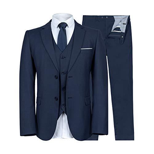 FTIMILD Mens Suits 3-Piece Suits...