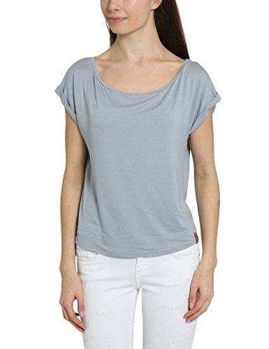 Berydale Damen T-Shirt leger geschnitten, Gr. 40 (Herstellergröße: L), Grau