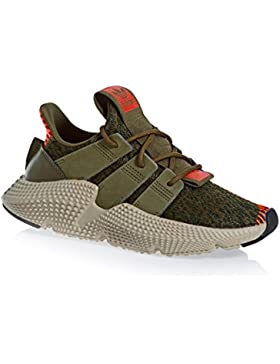 adidas Originals Prophere J Trace Olive Textile Youth Trainers
