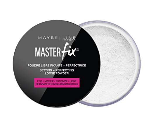 Maybelline New York - Poudre Libre Fixante & Perfectrice - Master Fix - Transparent (01)