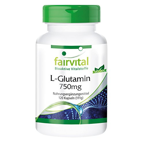 L-Glutamine 750mg - forme libre - biodisponible -...