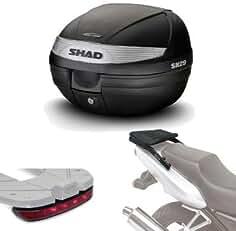 SHAD b0bn35if Halterung Koffer 3P System f/ür Benelli BN302 Schwarz