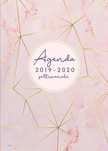 Agenda settimanale 2019 2020 A5: Agenda