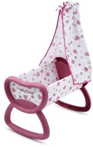 Smoby - 024643 - Poupée et Mini Poupée - Baby Nurse - Bercelonnette