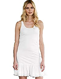 Señoras 100% algodón Jersey Full Slip de ellos la Redoute tamaño 1214