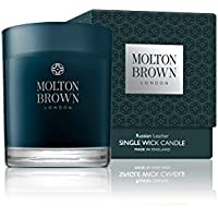 Molton Brown Russian Leather 1-Wick Scented Candle 180Gr