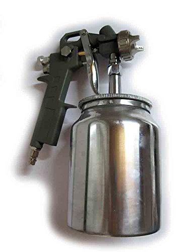 Pistola pintura con depósito inferior OreWork para compresor de aire - Aerógrafo - Ref.: 399351