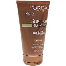 L'Oreal Paris Sublime Bronze Tinted Self-Tanning Lotion, Medium Natural Tan, 5.0 Fluid Ounce by L'Oreal Paris