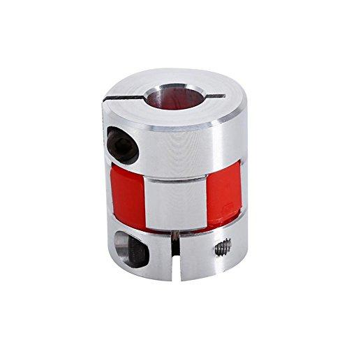 Pflaumenkupplungswelle, 8 mm x 10 mm flexible Pflaumenkupplung CNC-Schrittmotor-Encoderkupplung