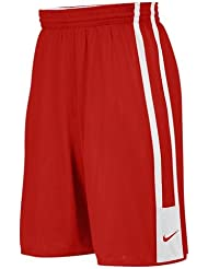 Nike Yth Team League Rev Short Pantalón Corto, Niños, Rojo (Tm Scarlet / Tm Blanco / Tm Scarlet), M