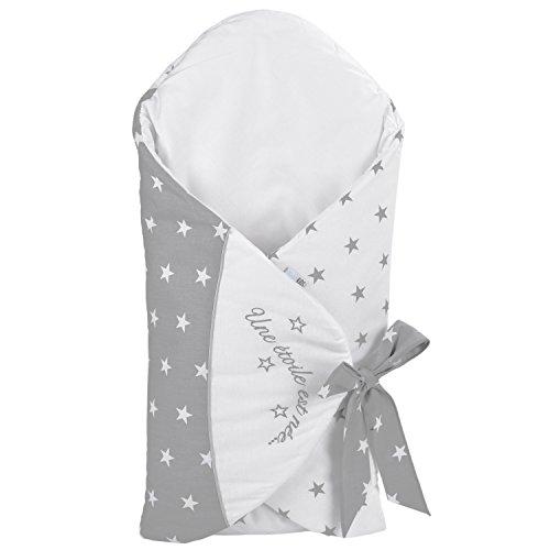 Babyschlafsack mitwachsend – Innovationsprodukt 2016 – Sterne – Sevira Kids
