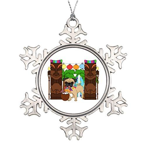 Weihnachts-Schneeflocken-Ornament zum Lernen von ABCs und ABC,