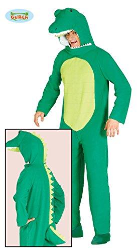Krokodil Alligator Reptil Kostüm für Herren Tierkostüm Halloween Dino Gr. M - L, - Alligator Kostüm Für Erwachsene