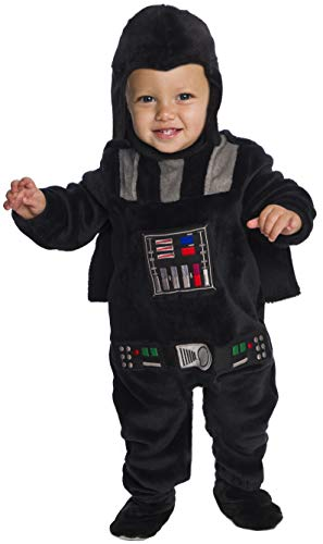 Darth Vader Deluxe Plush Fancy Dress Costume 2T ()
