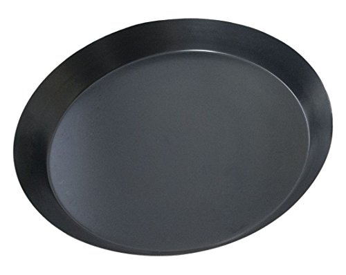 Price comparison product image Master Baker TH24 Pizza Pie Plate Smooth or 24 x 24 x 3 cm Steel Grey/Orange