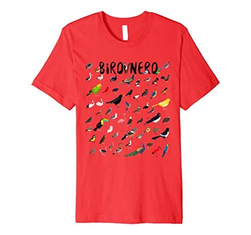 Vogelbeobachtung Ornithologe T-Shirt: Vogel Nerd Vogelbeobachtung