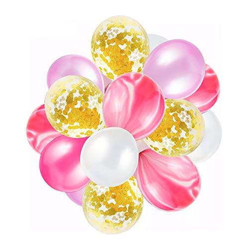 Vegkey Luftballons Bunt, 40 Stück Party Luftballons Pumpe Luftballons Bunte Ballons Dekorationen für Party Geburtstags Kindergeburtstag Hochzeit für Arten von Feierlichkeiten (Ballons5)