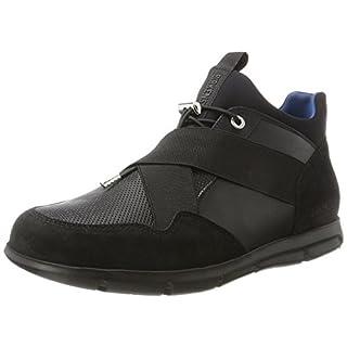 BIRKENSTOCK Shoes Ames Herren Derbys, Schwarz (Black), 43 EU