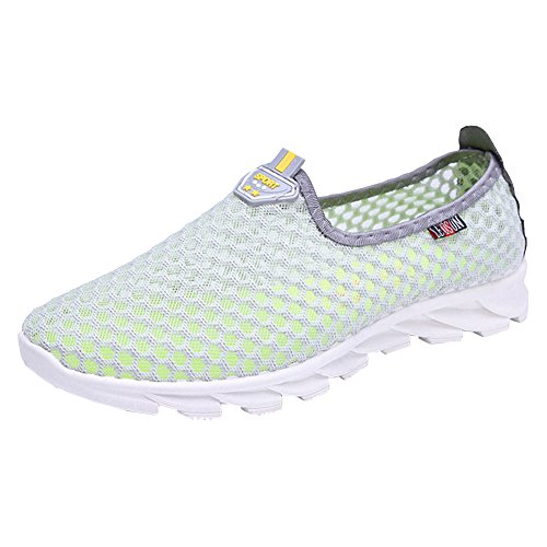 Homieco™ Women's Summer Mesh Breathable Aqua Water Shoes Slip On Loafers Outdoor...