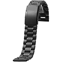 Garmin Replacement Watch Band, Fulltime(TM) Milanese Stainless Steel Quick Release Watch Band Strap for Garmin VIVOMOVE