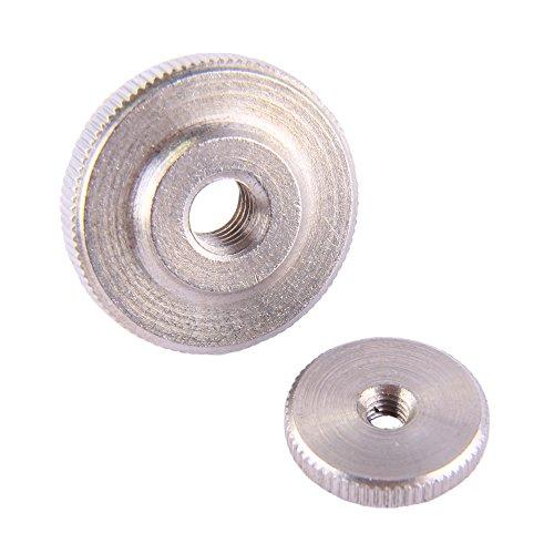 100 Stück Rändelmuttern M8 niedr. Form DIN 467 Edelstahl A1