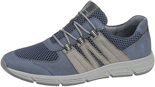 Waldläufer WALDLAEUFER Hommes Sneaker Haslo 323004-400-388 Jeans Bleu