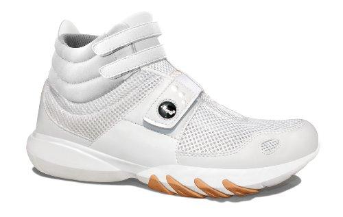 Glagla  Classic HI, Hi-Top Slippers femme Blanc - Weiß (White)