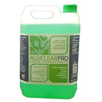 Algiclear Pro Concentrate-Moss Algae Mould Killer-5 Litre Makes 105 Litres Of Active Solution-Covers A Massive 1250 SQM For Roofs,Patios,Decking,Walls,Paving And All Outdoor Hard Surfaces.