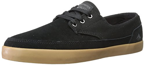 Nero Black Gum Skateboard da Scarpe Troubadour Low The uomo Emerica Oq80v8