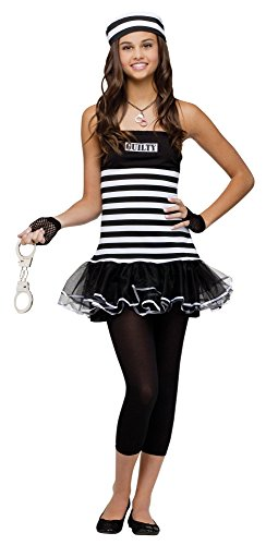 Teen Guilty Prisoner Fancy dress costume Teen (Teen Dress Fancy)