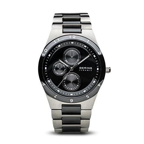 BERING Herren-Armbanduhr Analog Quarz Edelstahl 32339-742