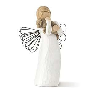 Willow Tree 26011 Angelo dell'Amicizia Resina, Design di Susan Lordi, 13 cm