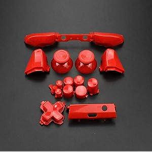 Ersatz-Knopf für Stoßstangen-Trigger-Tasten Guide Dpad RT LT RB LB ABXY ON Off Button Kit für Xbox One Slim Xbox One S Controller