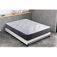KAMA HAUS | Colchón Cotton Soft Visco | 150x200cm | ViscoAvanza | con Algodón | Altura