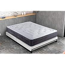 KAMA HAUS | Colchón Cotton Soft Visco | 90x190cm | ViscoAvanza | con Algodón | Altura