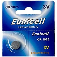 Eunicell Branded 1 x CR1025 3 V Lithium Coin Cell Sales Eunicell Germany