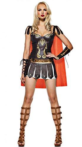 Sexy Kostüm KRIEGERIN Gladiatorin (Halloween Kostüm Spartan)