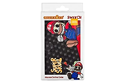 Super Mario Day of the Dead Switch 2-in-1 Portable Protective Case and Stand (Nintendo Switch) by Indeca