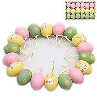 Descrizione del prodotto:Per l'ora di Pasqua, le uova sono una scelta tradizionale e indispensabile per ogni famiglia. Queste uova hanno una corrispondenza di colori freschi e morbidi, con significati specifici e sensazione vivace ed energica...
