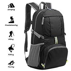 Idea Regalo - Netspower Zaino da Escursione 40L, Zaino da Viaggio Leggero e da Trekking, Materiale è Impermeabile, per Ciclismo da Viaggio/Arrampicata/Sportiva/da Campeggio All'Aperto