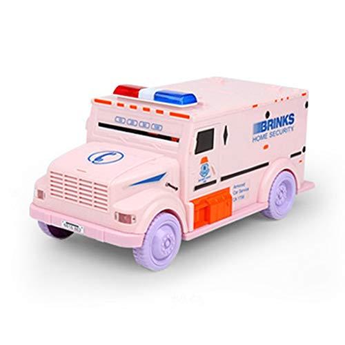 (Togames-DE Neuheit Design Cash Truck Form Automatische Einsparung Box Elektronische Licht Passwort Münzen Spardose Sparschwein Kind Geschenk)