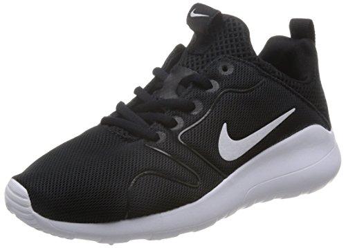 Nike Wmns Kaishi 2.0, Scarpe da Ginnastica Basse Donna, Nero (Black/White), 38.5 EU