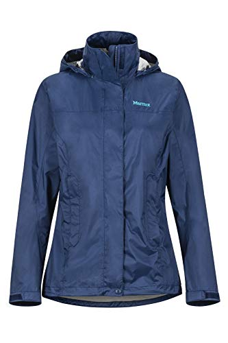 Marmot Damen Wm's PreCip Eco Jacket Hardshell Regenjacke, Winddicht, wasserdicht, atmungsaktiv, Arctic Navy, L